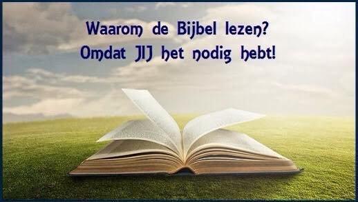 Waarom Bijbel lezen