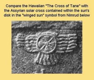Symbool van Nimrod eerste antichrist