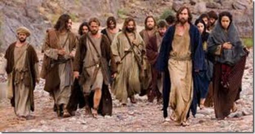 Jezus en Zijn discipelen