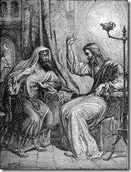 Jezus en Nicodemus