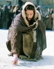 Jezus en overspelige