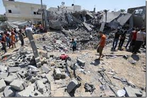 Einde Gaza